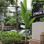 the chic organic restaurant on Langsuan