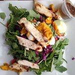 Grilled Chicken & Arugula Salad