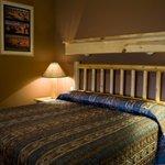 Sleeping Area in King Suite 203