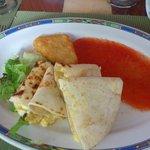 Delicious Mexican breakfast