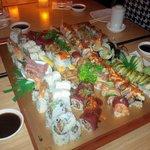 Great Sushi and Sashimi selection!
