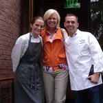 Lisa, Head Chef, and Andy, Manager