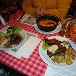 Три блюда