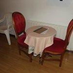mesa do quarto de casal