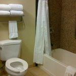 Route 66 Casino Hotel 2 Queen Room Bathroom