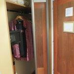 Safe & wardrobe