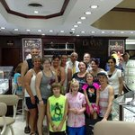 My family with Charlie at Imperial Jewelers.