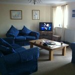 The spacious lounge