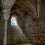 St. Bernard de Clairvaux Prayer Room Window