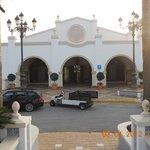 entrada de hotel