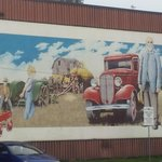 Historic Mural in nearby Welland, ON