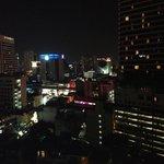 ナナ方面の夜景