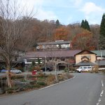 紅葉の蔦温泉旅館