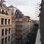 Top floor room street view