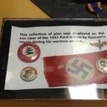 WWII Memorabilia on display