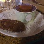 Cortesia do hotel (sorvete Ladurée)