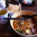 Ebi Furai Udon with Soyu Soup