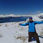 Yay! Amazing alpine landing