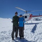 us with the heli