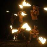 flaming dance @ peter pan resprt