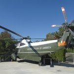 Helicopter that took Nixon from White House after Resignation