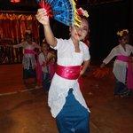 Local school dancers visit