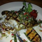 I have never taste something soo good!! The grill tilapia was of the hook.. i highly recommend p