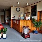 Front Desk of Resort Inn Fujihashi