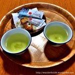 Welcome refreshment at Resort Inn Fujihashi
