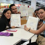 Abschlussklasse einer Kochschule in Cebu
