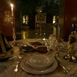 dinner in the Riad