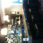 Bar à l'entrée du restaurant