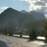 горы недалеко от отеля