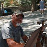 Свободный художник (Старый  город)Родос