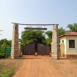 Main Entry Gate : Irai Safari Retreat.