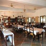 Dining Hall and Bar.