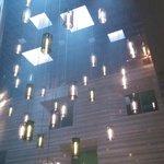 The Stunning 25 meter high Atrium and Latitude 34 bar