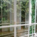 internal courtyard
