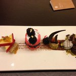 Complimentary Dessert Platter