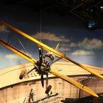 Un Stearman caché au plafond