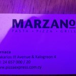 Marzano Restaurant card