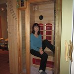 One of the Infrared Dry Saunas