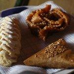 Fresh Moroccan pastries.