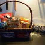 Welcome hamper - very useful!
