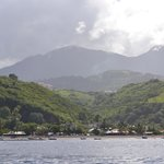 Bellefontaine, vue depuis la mer