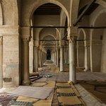 Pillars and prayer mats!