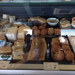 Deli counter.