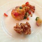 Salt & Pepper Prawn, Sesame Chicken