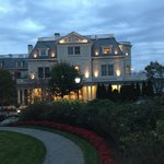 Dusk at entrance to Chanler