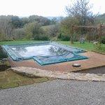 la piscina d'inverno!